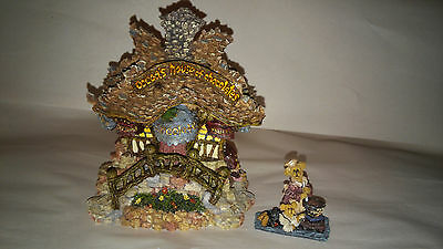BOYDS Bears Town Bearly-Built VILLAGE #19009 COCOA's HOUSE of CHOCOLATE MIB
