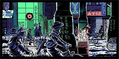 """Blade Runner """"If Only You Could See..."""" Print by Mondo Artist Tim Doyle S/N/150"""