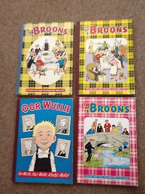 The Broons Annuals Oor Willie Annual Job Lot
