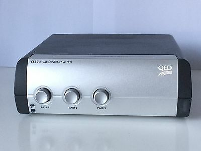 QED SS30 3-way speaker selection switch