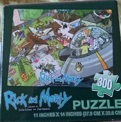 Rick & Morty 300pc puzzle - Loot crate item