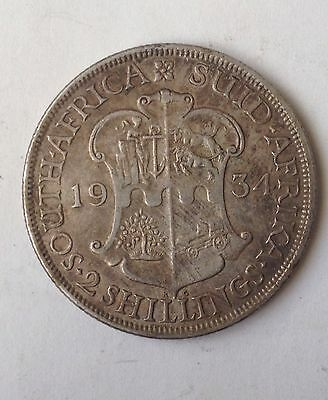 South Africa 2 Shillings 1934..Nice Detailes!