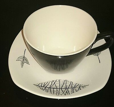 Midwinter Nature Study Coffe Cup And Saucer