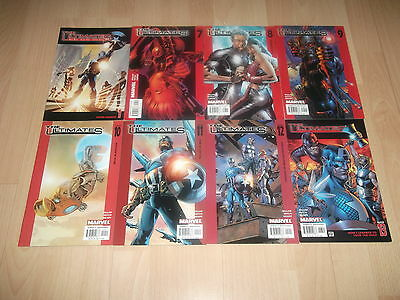 Ultimates 1 & 7 - 13 by Mark Millar & Brian Hitch 8 9 10 11 12