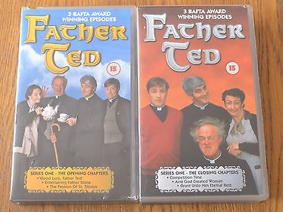 Father Ted Series 1 - VHS video tapes x2 - timeless humour
