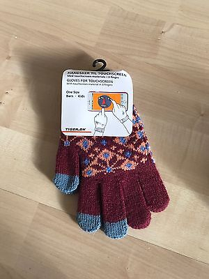 KIDS GLOVES with TOUCHSCREEN PADS
