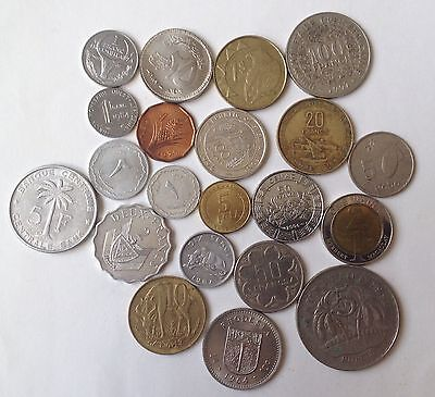 Lot African Coins..