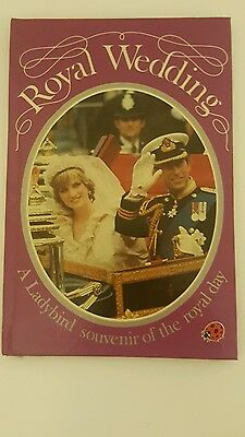 ROYAL WEDDING  Charles & Diana Souvenir Ladybird Book Hardback