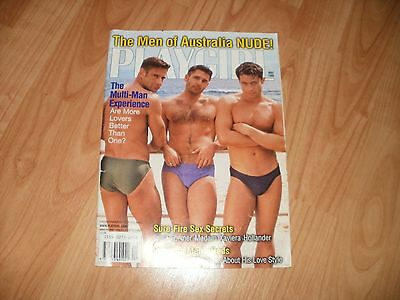 Gay magazine vintage Playgirl May 1999 Men of Australia special