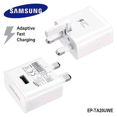 SAMSUNG ADAPTIVE FAST CHARGING WALL PLUG CHARGER for Galaxy S7 S6 EDGE S5 NOTE 4