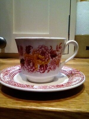 Ridgway coffee cup and saucer