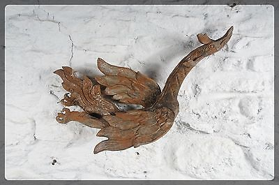 Decorative Mythical Wooden Bird / Phoenix - Antique Asian Wood Carving
