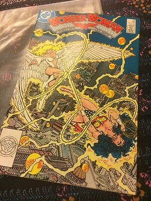 Wonder Woman Comic - Issue 16 May 1988 DC