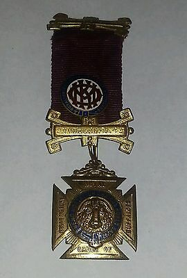 Royal Antediluvian Order of Buffaloes Medal 1941/43/47 LANGOLD VICTORY EXALTED