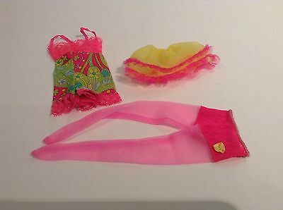 Vintage Barbie Mod close-Ups slip- pantyhose, Underlines Chemise , petticoat