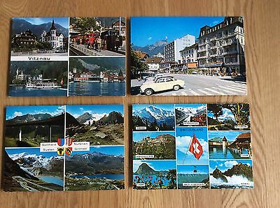 Vintage Postcards - Various From Switzerland