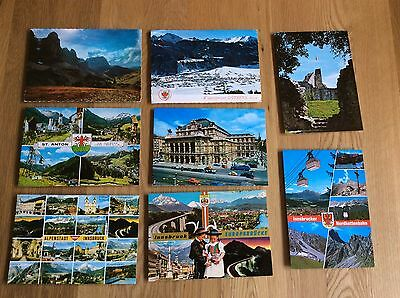 Vintage Postcards - Various From Austria