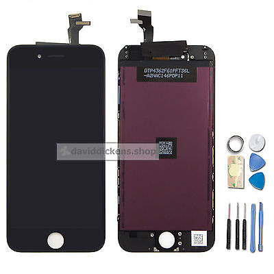 "front LCD Display Touch Screen Digitizer Assembly for iPhone 6 4.7""+Tools Black"