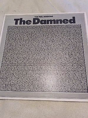 """The Damned Peel sessions 12"""" from 1986"""