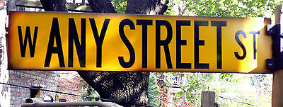 Chicago Vintage Reproduction Street Sign - Custom Name or Place