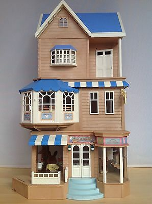 Sylvanian Families House of Bramble's Store, Cafe, Cottage, Figures, Accessories