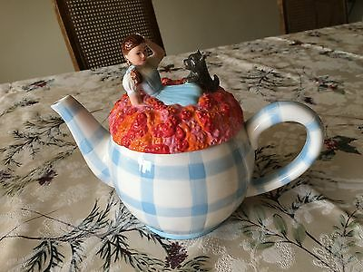 1998  - WIZARD OF OZ - Teapot - Dorothy and Toto  - NEW IN BOX - Warner Brothers