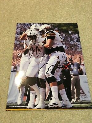 Appalachian State Mountaineers Football Marcus Cox Signed Autographed Photo