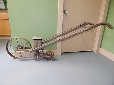RARE Vtg Antique Planet Junior Jr. No. 5 Push Planter Garden Plow Seeder Farm