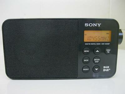 Sony Digital Radio. Model No:XDR-S40DBP