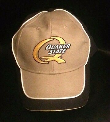 Quaker State Oil Company Baseball Cap One Size Fits All Brand New
