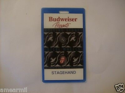 Rolling Stones Steel Wheels Stagehand Backstage pass