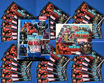 Topps HERO ATTAX SERIE 2 The Avangers Edition 1 -Trading Card Game Tüten Booster