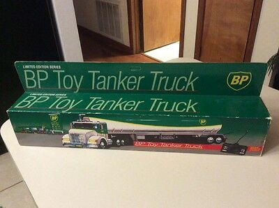 1992 BP Toy Tanker Truck Remote Controlled MIB