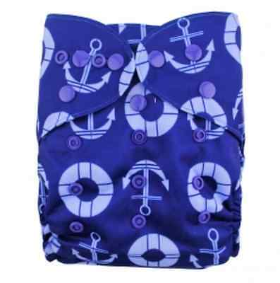 New Cheap Adjustable Baby Cloth Nappy Snap Cover Double Gussets One Size Diaper