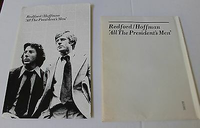 ALL THE PRESEIDENTS MEN Presskit 1976 Hard to find