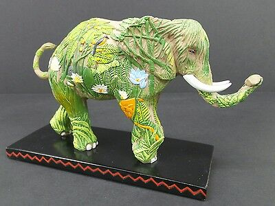 Tusk Jungle Elephant Figurine Collectible Statue Westland 1st Edition #566