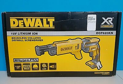 Dewalt Cordless Drywall Collated Screwgun 18V /  Dcf620Kn