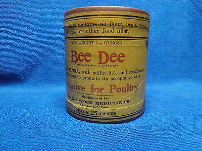 Veterinary Medicine, Bee Dee Laxative for Poultry