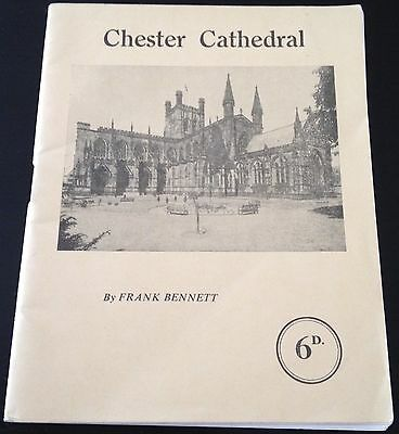 Chester Cathedral By Frank Bennett Booklet - Vintage