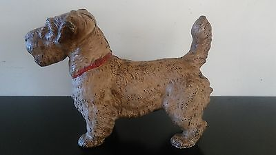 Early 1900 s Hubley Cast Iron Haversham Terrier