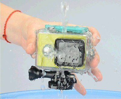 AU 40M Waterproof Cover Case for Xiaomi Yi Action Camera with Optical Surface