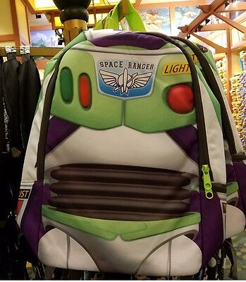 Disney Parks Toy Story Buzz Lightyear Space Ranger Backpack New