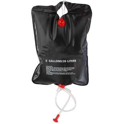 20L Outdoor Shower Bag Foldable Solar Energy Heated Camp PVC Water Bag