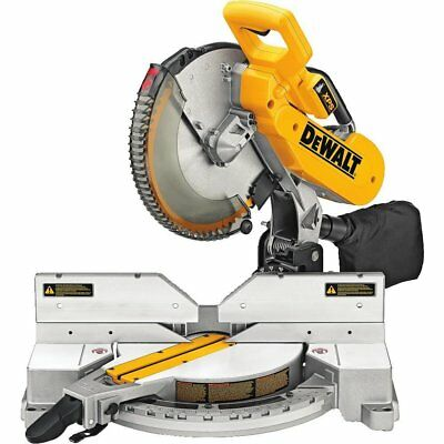 DeWALT DW716XPS 12 Inch Compound Miter Saw with XPS and 15 amp 3,600 RPM Motor