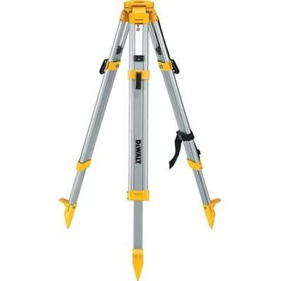 "DeWALT DW0737 60"" Construction Laser Grade Level Tripod - 5/8"" x 11"" Threads"