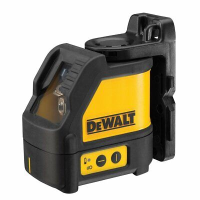 DEWALT DW088K Self-Leveling Cross Line Laser Level - 100-FT Range
