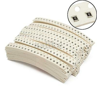 3400pcs 0805 1/4W ±5% SMD Chip Resistor Capacitor Kit Assorted 170 Value 0R~10MR