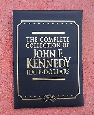 Willabee & Ward The Complete Collect. of John F. Kennedy Half Dollars 1964-2014