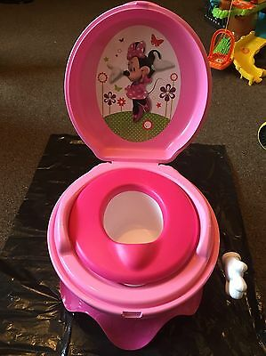 TOMY First Years Disney Girl's Minnie Mouse Potty System Toilet Training