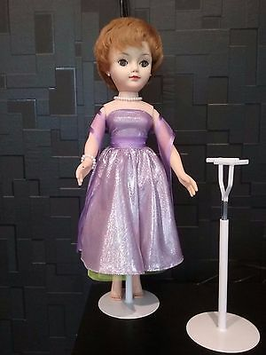 LOT 2 X T shaped  Saddle stands suit 16 - 20  inch high + dolls
